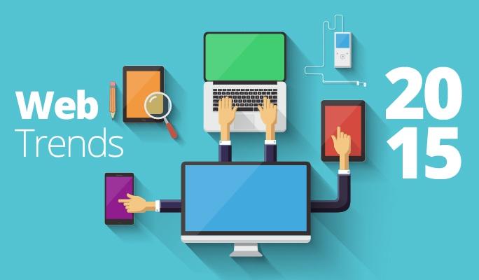 I trends nel web design nel 2015